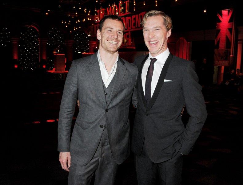 Michael Fassbender and Benedict Cumberbatch