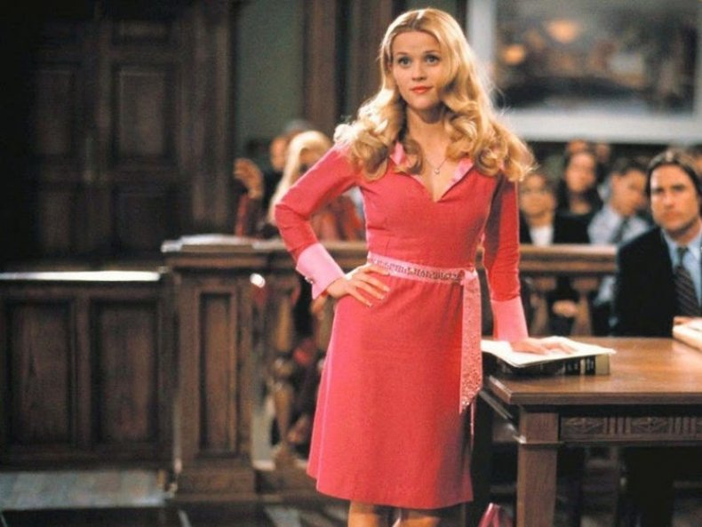 Reese Witherspoon as Elle in Legally Blonde