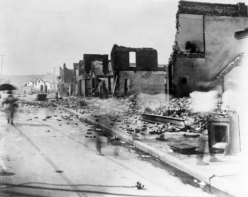 Tulsa after the 1921 Tulsa Race Massacre