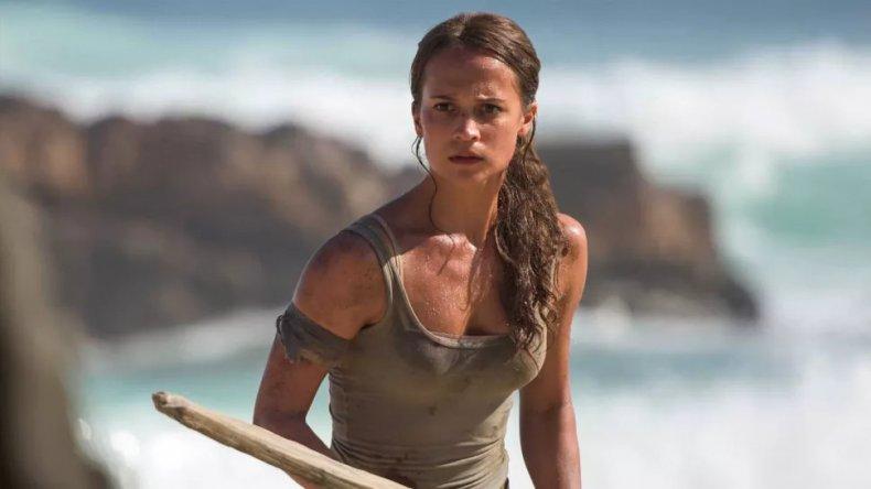 Alicia Vikander as Tomb Raider's Lara Croft