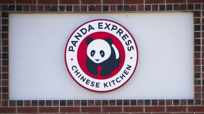 Panda Express sign