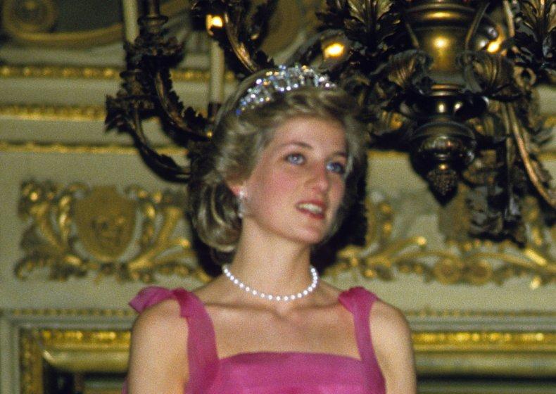 Princess Diana in milan