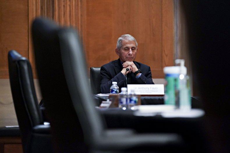 Anthony Fauci testifies before Senate