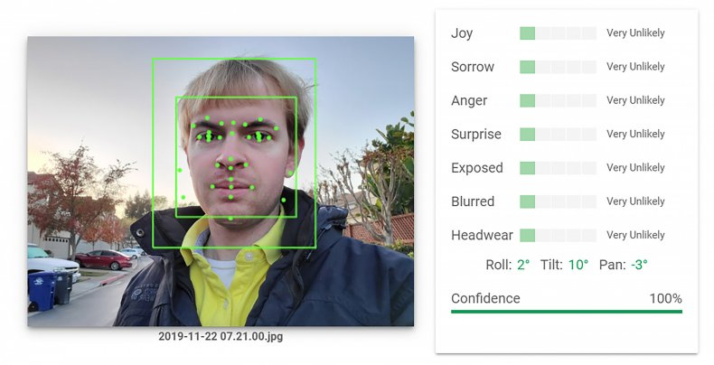 Output of an Artificial Intelligence Google system