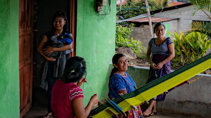 Tejedores guatemaltecos