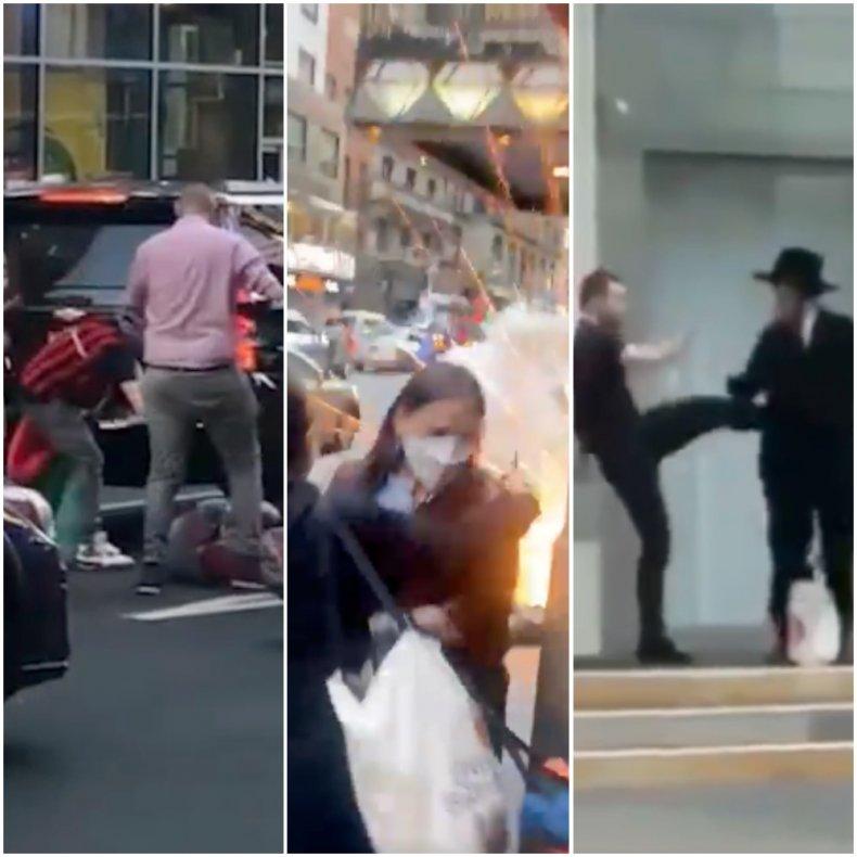 anti-Semitic violence