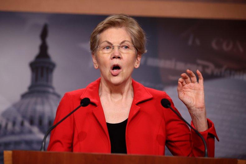 Elizabeth Warren clashed about overdraft fees