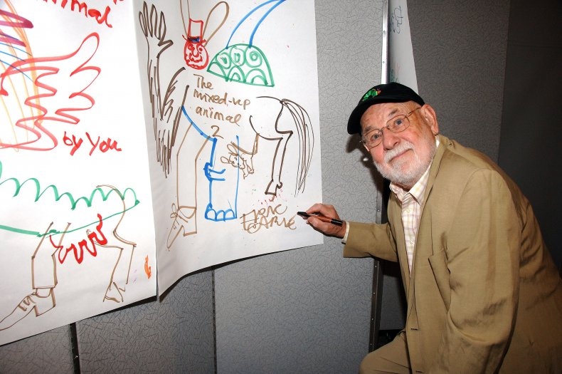 Author and illustrator Eric Carle