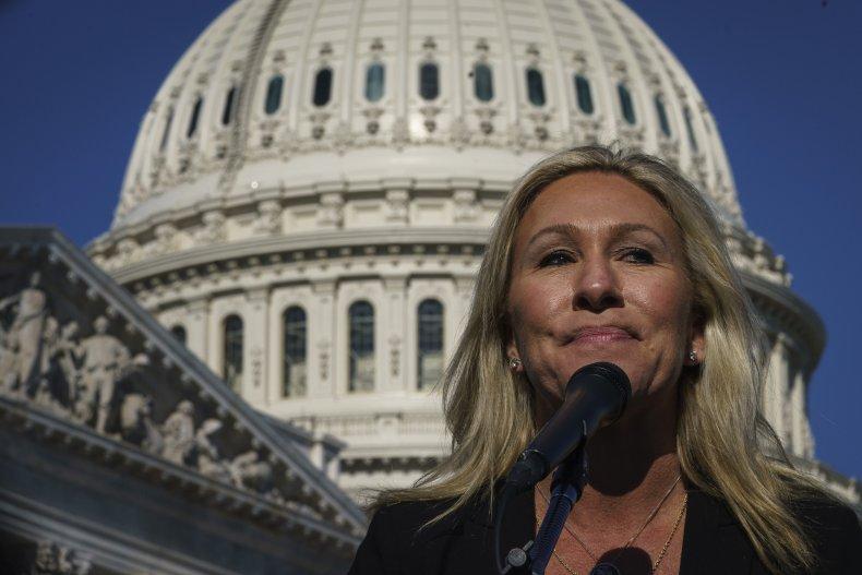 Marjorie Taylor Green Speaks the U.S. Capitol