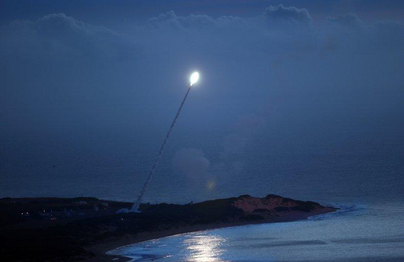 Missile test in Kauai, Hawaii in 2007