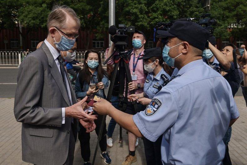Australian Ambassador to China Graham Fletcher