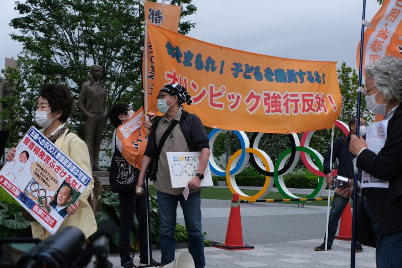 Protests Against Tokyo 2020 Olympics