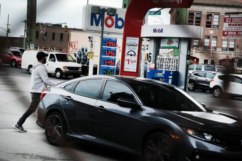 Trump Blasts Biden Over Gas Prices