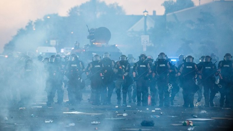 Minnesota State Troopers George Floyd Protests Assault