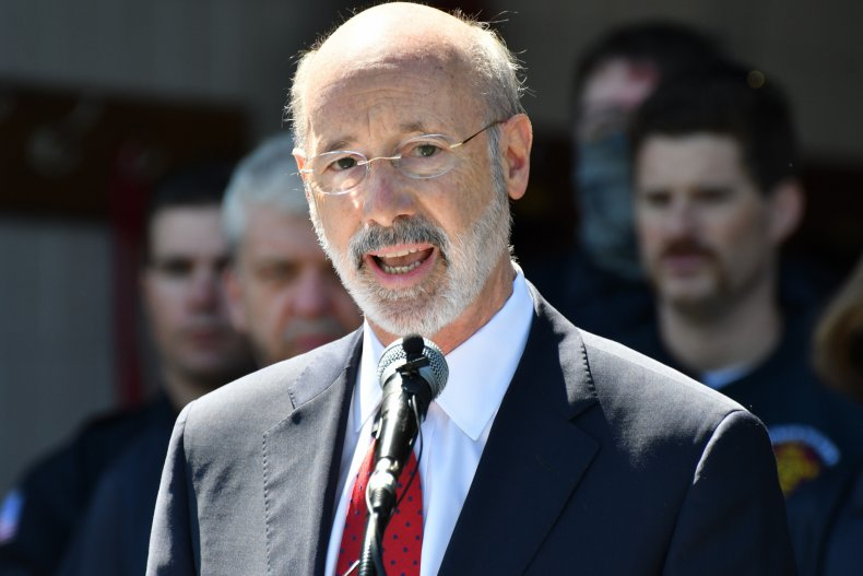 Tom Wolf press conference