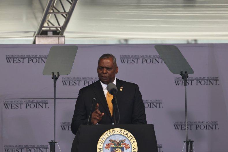 DOD Secretary Lloyd Austin West Point