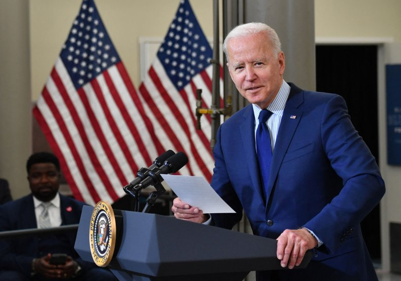 Biden Shows List GOP Touting COVID Relief