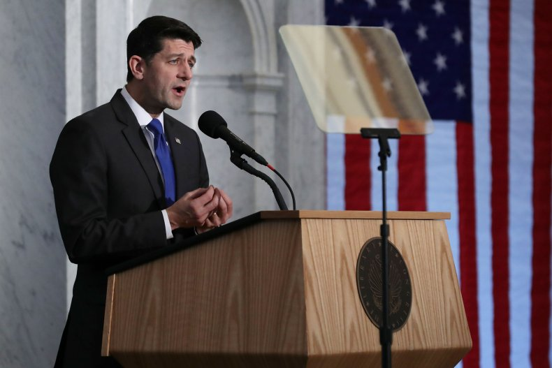 Former Speaker of the House Paul Ryan