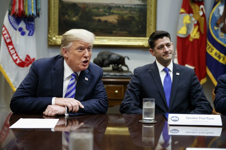 Then-Speaker of the House Paul Ryan
