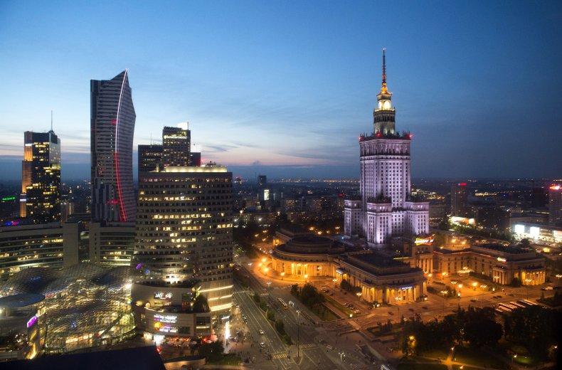 Warsaw, Poland skyline