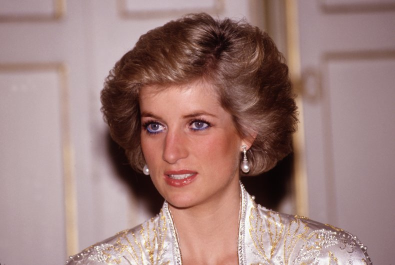 The late Princess Diana