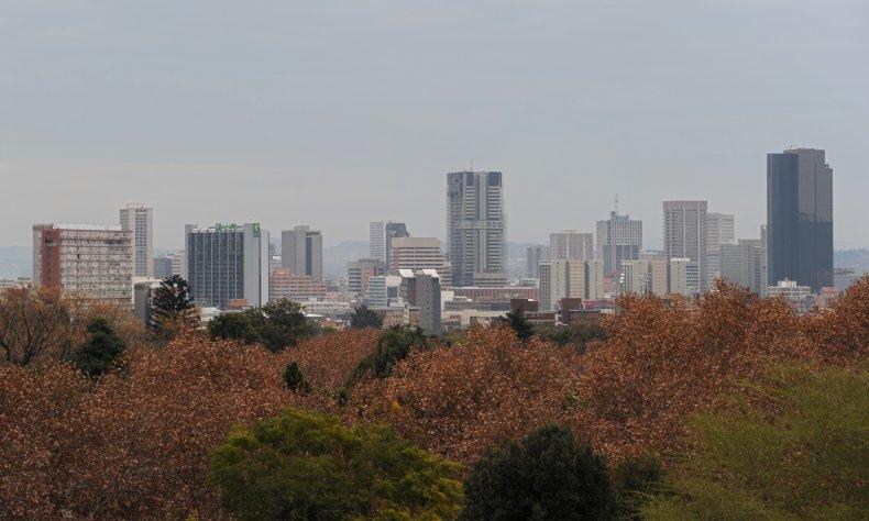 General view of Pretoria, South Africa