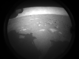 First photo from Mars