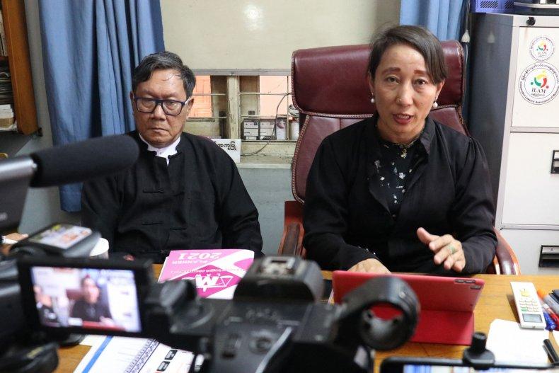 Detained Myanmar leader Aung San Suu Kyi