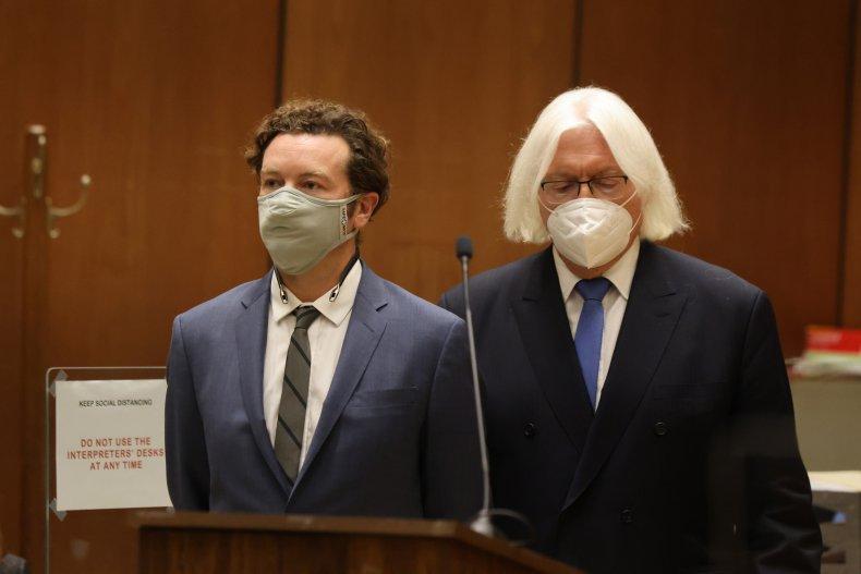Danny Masterson pleaded not guilty to rape