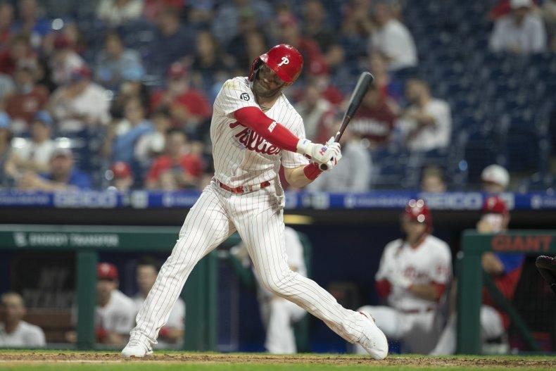 Bryce Harper of the Philadelphia Phillies