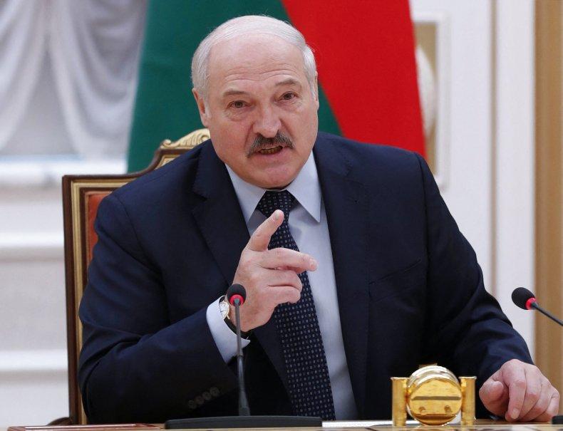 Alexander Lukashenko speaks at event in Minsk