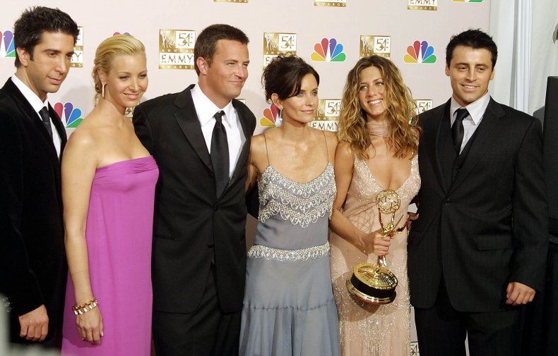"""The stars of """"Friends"""""""