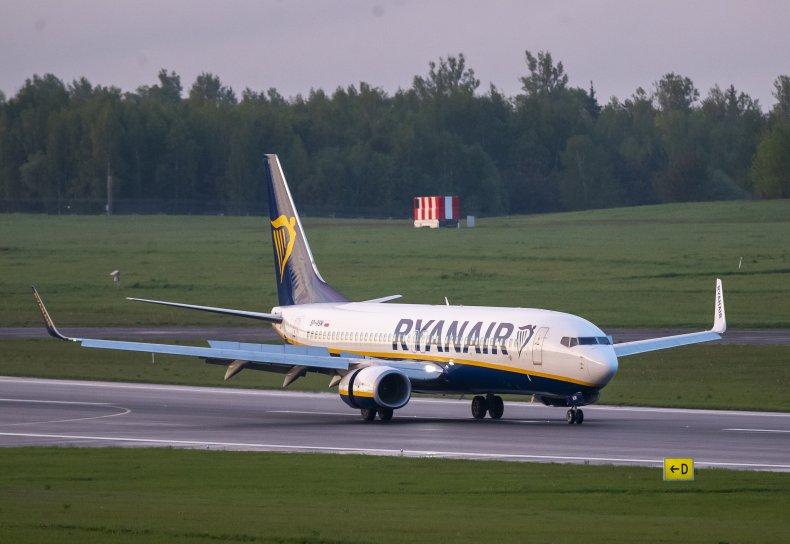 Belarus Ryanair Flight