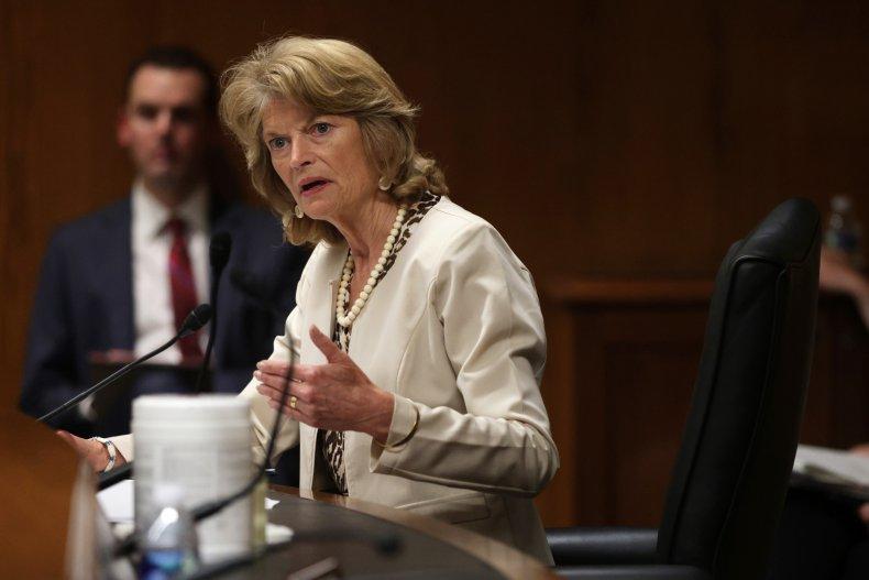 Sen. Lisa Murkowski (R-AK) on Capitol Hill