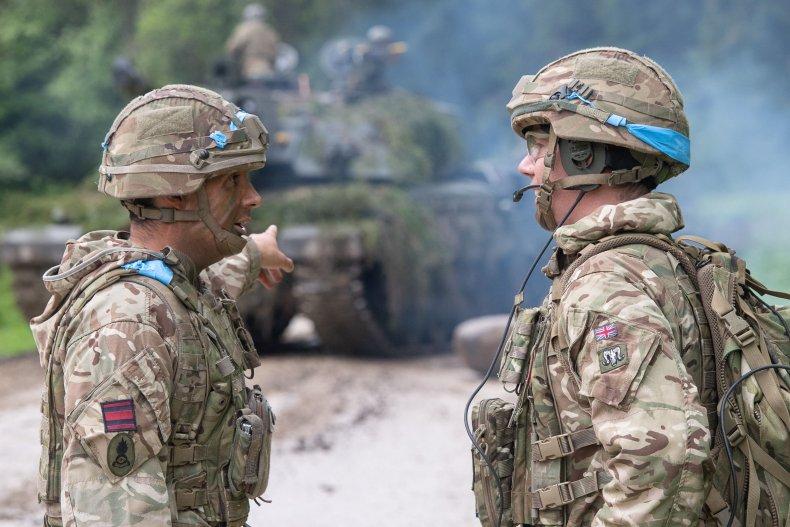 NATO exercise in Estonia