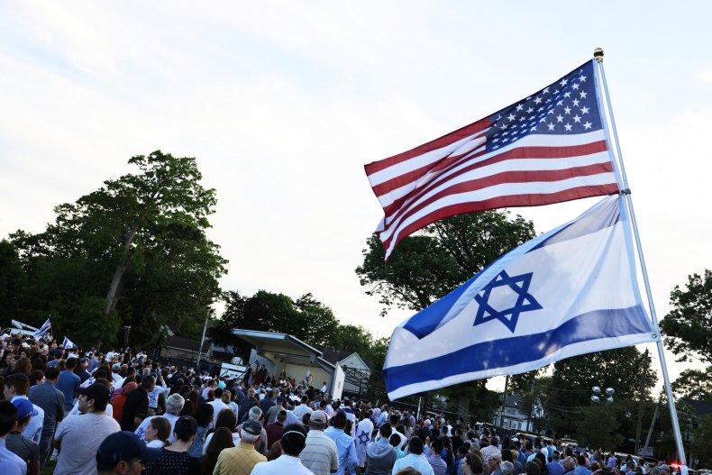 Rally against antisemitism