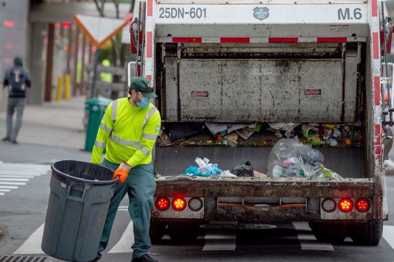 garbage pickup trash pickup memorial day