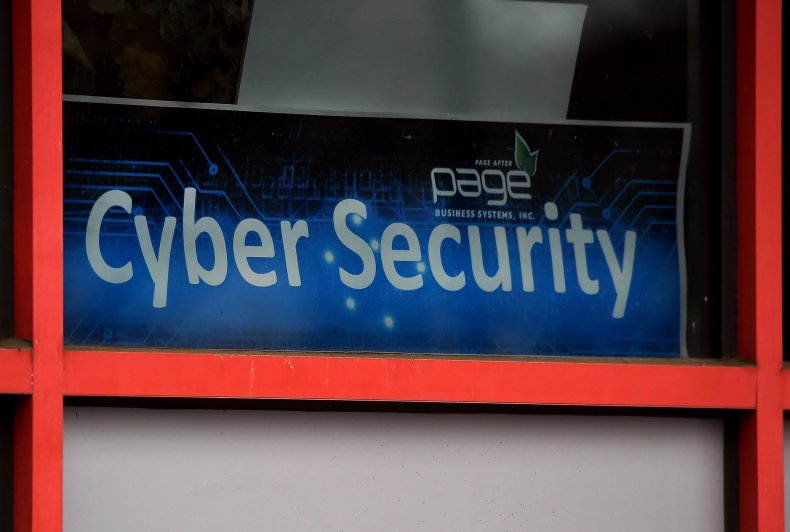Cyber Security Sign