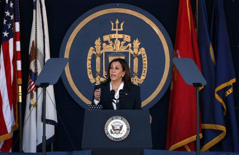 Kamala Harris Naval Academy