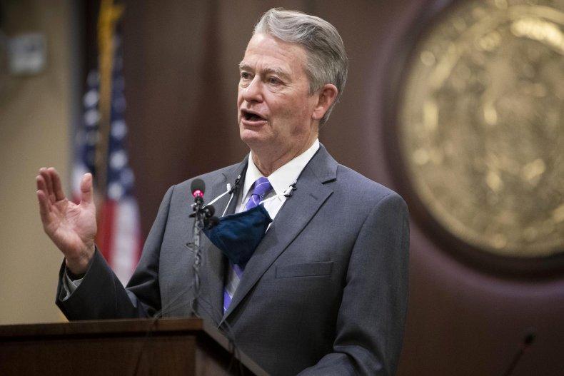 Idaho Gov. Brad Little Repeal Mask Ban