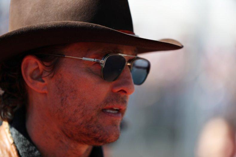 Matthew McConaughey Texas Governor Face Masks COVID-19