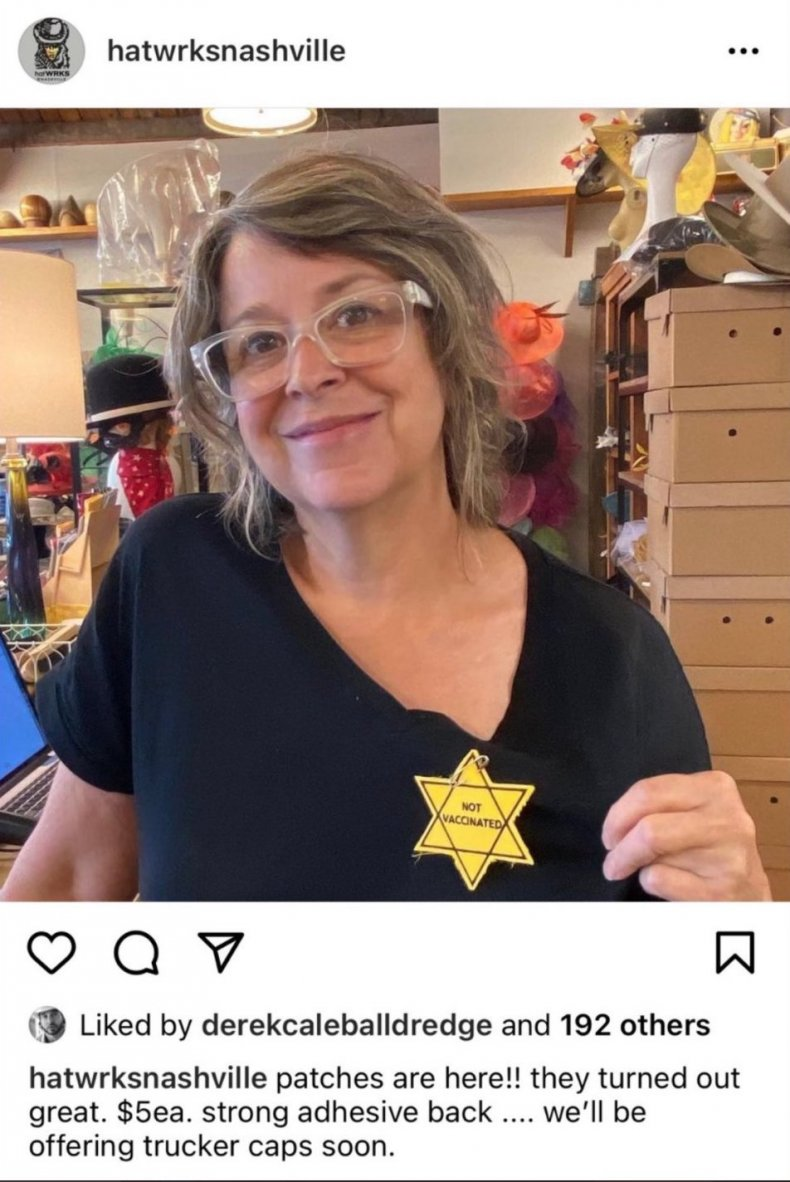 hatWRKS Tennessee Gigi Gaskins Nazi Jewish star