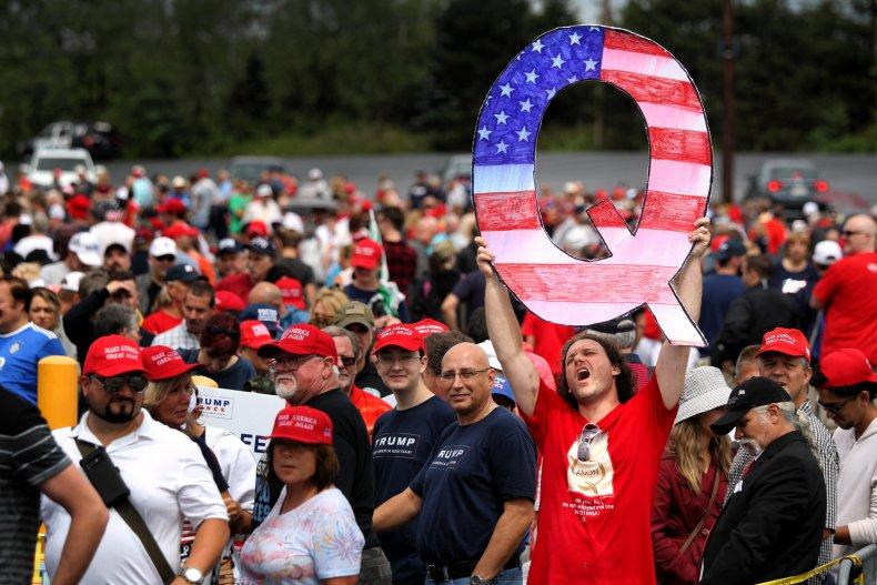 QAnon Poll White Evangelical Christian Protestants Trump