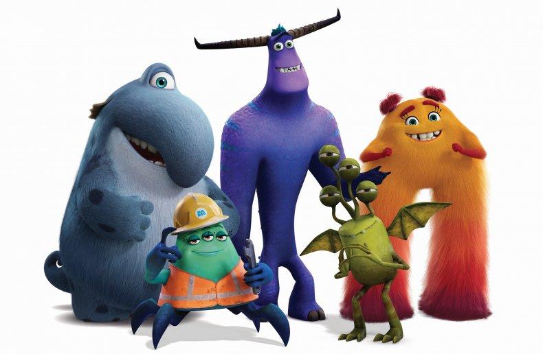 Monsters at Work Pixar