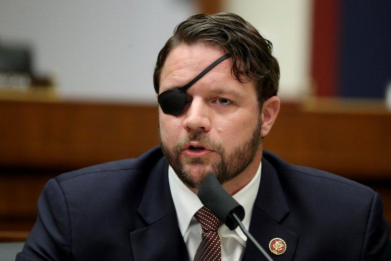 Dan Crenshaw Questions Witnesses in Congress
