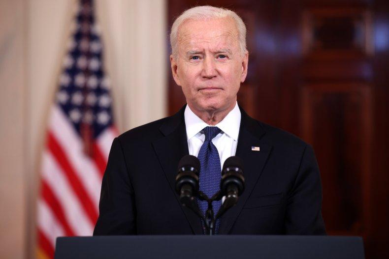 Joe Biden condemns Texas voting bill
