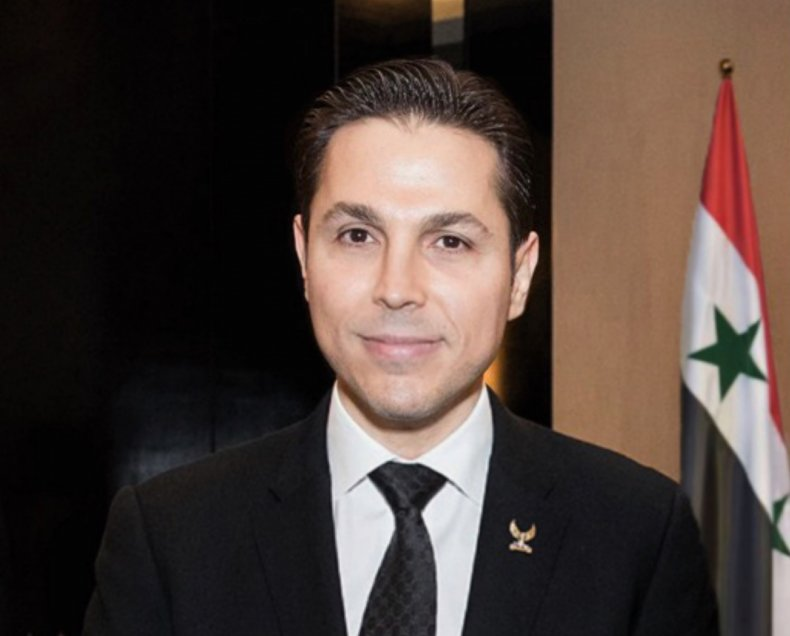 Ribal al-Assad photo for Syria interview