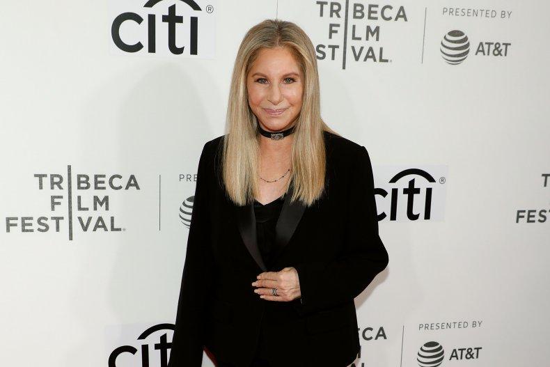 Barbra Streisand Attends Tribeca Talks in 2017