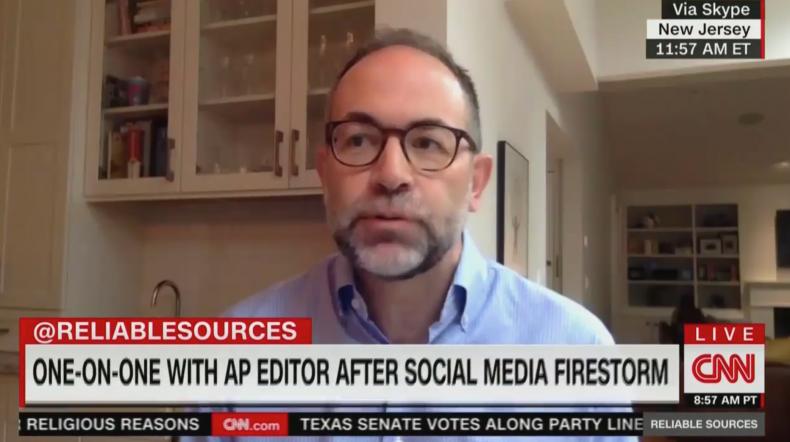 AP managing editor Brian Carovillano on firing