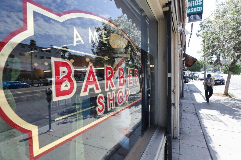 Barbershop Window Sign